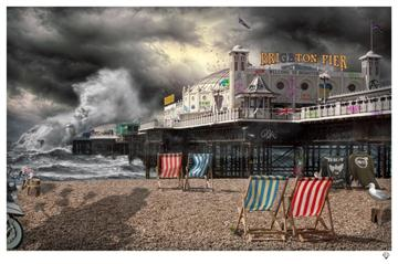 Palace Pier By J J Adams