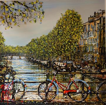 An Afternoon in Amsterdam By Nigel Cooke