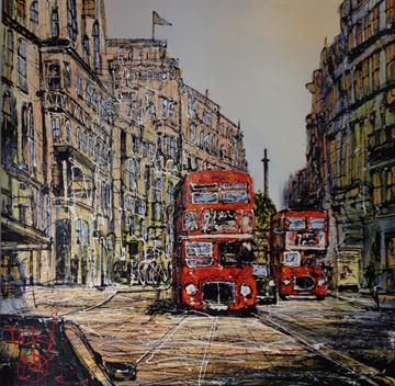 On the Buses By Nigel Cooke