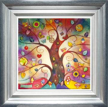 Rainbow Tree By Kerry Darlington