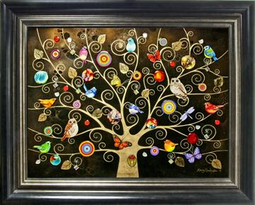Tree of Life Gold (X-Large) By Kerry Darlington