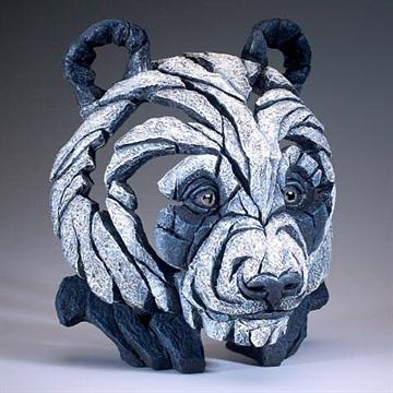 Panda Bust By Matt Buckley Edge