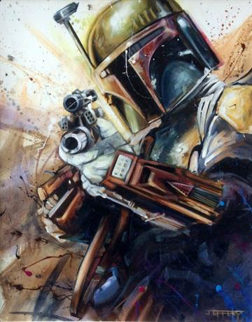 Boba Fett By Ben Jeffery