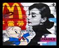 Top Selling Artwork - Audrey and Porky